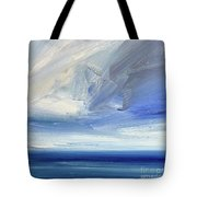 Over The Shore Tote Bag