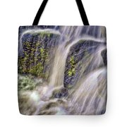 Over The Stones Tote Bag