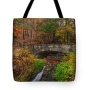 Over The Stream Tote Bag