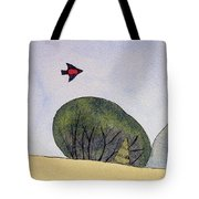 Over The Trees Tote Bag