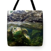 Over Under Honu Tote Bag