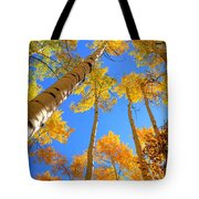 Over Your Head Tote Bag