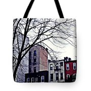 Overcast And Cold Tote Bag