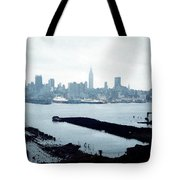 Overcast City Tote Bag