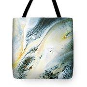 Overcast Sea Abstract Tote Bag