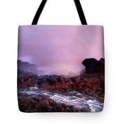 Overcome By The Tides Tote Bag