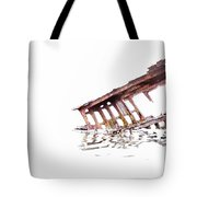 Overexposed Peter Iredale Tote Bag