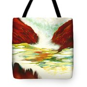 Overflowing Tote Bag
