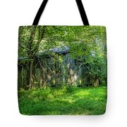 Overgrown Barn 2567t Tote Bag