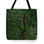 Overgrown Brook Tote Bag