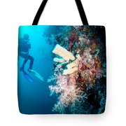 Overgrown Coral Tote Bag