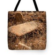 Overgrown Graves Tote Bag