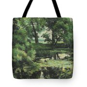 Overgrown Pond Tote Bag