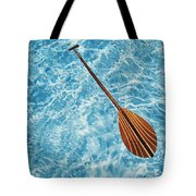 Overhead View Of Paddle Tote Bag