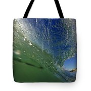Overhead Wave Tote Bag