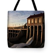 Overholser Dam Tote Bag