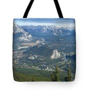 Overlook Banff Vista Tote Bag
