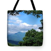 Overlook On The Pisgah Trail Tote Bag