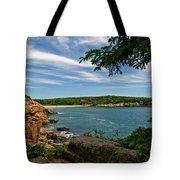 Overlooking Sand Beach Tote Bag