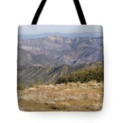 Overlooking Santa Paula Canyon Tote Bag