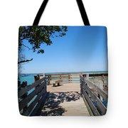 Overlooking Sarasota Bay Tote Bag