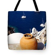 Overlooking Sea Tote Bag