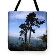 Overlooking The Bay Tote Bag
