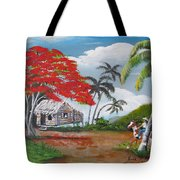 Overlooking The Cliff Tote Bag