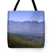 Overlooking Vineyards Tote Bag