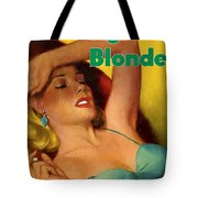 Overnight Blonde Tote Bag