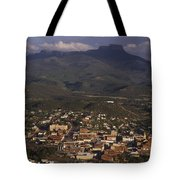 Overview Of Town Of Trinidad Tote Bag
