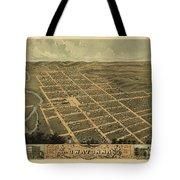 Owatonna, Minnesota 1870 Tote Bag