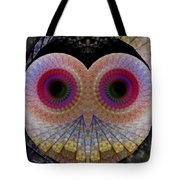 Owl Abstract Tote Bag