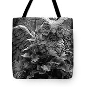 Owl And Ivy Tote Bag