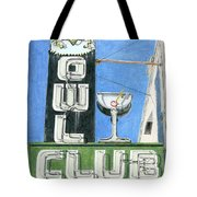 Owl Club Tote Bag