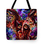 Owl Colors Wild. Tote Bag