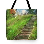 Owl Creek Mound  Tote Bag