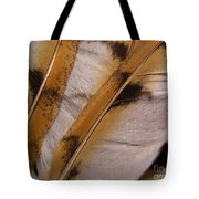 Owl Feathers Photograph Tote Bag