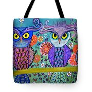 Owl In The Family Tote Bag