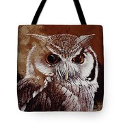 Owl Painting  Tote Bag
