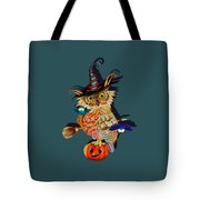 Owl Scary Tote Bag