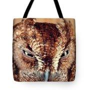 Owl Who? -brown Owl Tote Bag