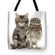 Owling And Yowling Tote Bag