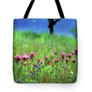Owl's Clover And The Tree Tote Bag