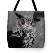 Owls Eye Tote Bag