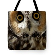Owl's Eyes Tote Bag