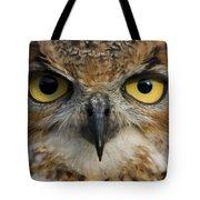 Owls Eyes Tote Bag