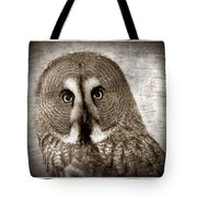 Owls Eyes -vintage Series Tote Bag