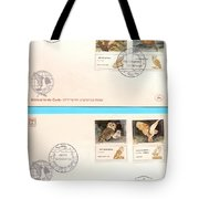 owls First day cover Tote Bag