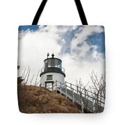 Owl's Head Lighthouse 4761 Tote Bag